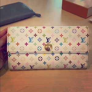 Louis Vuitton x Takashi Murakami Wallet